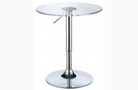 Trixy Chrome Bar Table