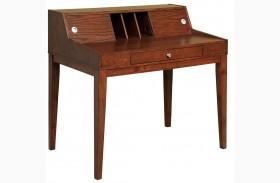 Veda Cherry Writing Desk