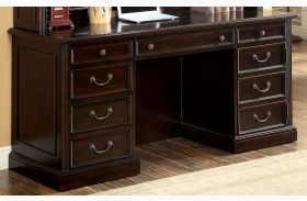 Coolidge Cherry Credenza Desk