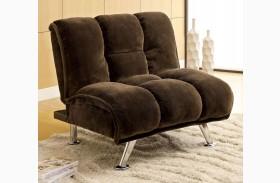 Marbelle Dark Brown Champion Fabric Chair