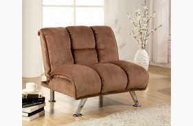 Marbelle Mocha Champion Fabric Chair