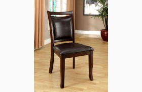 Woodside Dark Cherry Side Chair Set of 2