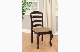 Townsville Dark Walnut Side Chair Set of 2