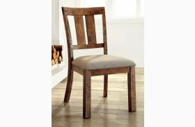 Dickey Medium Oak Side Chair Set Of 2