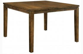 Ingrid II Walnut Extendable Counter Height Table