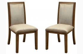 Ingrid I Walnut Side Chair Set Of 2