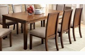 Ingrid I Walnut Extendable Rectangular Dining Table