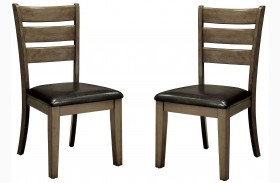 Imelda Gray Side Chair Set Of 2
