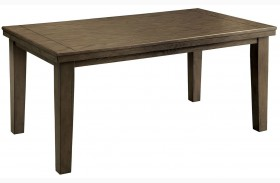 Imelda Gray Rectangular Dining Table