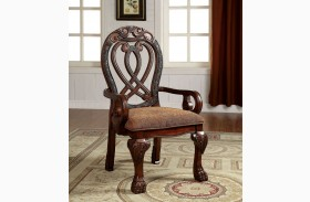 Wyndmere Cherry Arm Chair Set of 2
