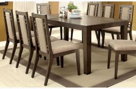 Eris I Weathered Gray Extendable Rectangular Dining Table