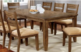 Ava Light Oak Dining Table