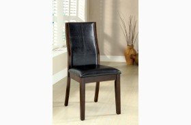 Toronto Dark Oak Side Chair Set of 2