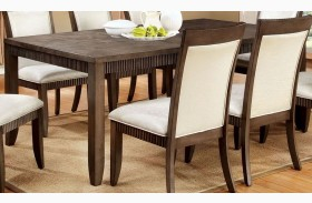 Forbes I Gray Rectangular Extendable Leg Dining Table