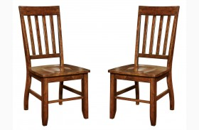 Foster I Dark Oak Side Chair Set of 2