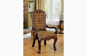 Medieve Cherry Arm Chair Set Of 2