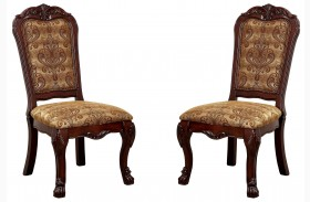 Medieve Cherry Side Chair Set Of 2