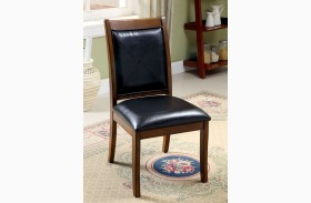 Living Stone I Tobacco Oak Side Chair Set of 2