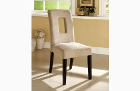 West Palm I Espresso Side Chair Set of 2