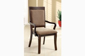 Woodmont Walnut Arm Chair Set of 2
