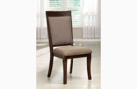 Woodmont Walnut Side Chair Set of 2