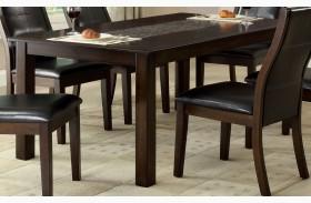 Townsend I Mosaic-Insert Rectangular Leg Dining Table