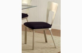 Nova Microfiber Side Chair Set of 2