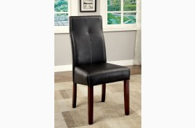 Bonneville I Leatherette Side Chair Set of 2