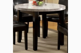 Marion I Marble Top Round Dining Table