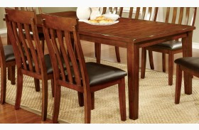 Foxville Cherry Rectangular Extendable Leg Dining Table