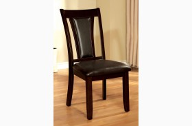 Brent Brown Side Chair Set of 2