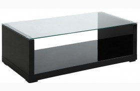Myla Black Coffee Table