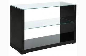 Myla Black Sofa Table