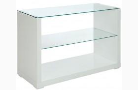 Myla White Sofa Table