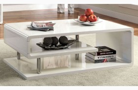 Ninove I White High Gloss Coffee Table