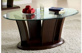 Manhattan IV Dark Cherry Coffee Table