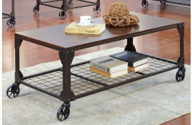 Edgeley I Metal Coffee Table