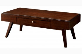 Kinley Brown Cherry Coffee Table