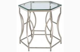 Zola Chrome End Table