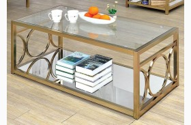Rylee Champagne Coffee Table