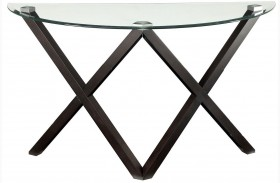Meera Espresso Sofa Table