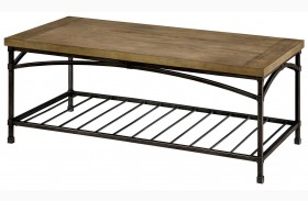 Wylde I Natural Coffee Table