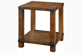 Broadus Dark Oak End Table