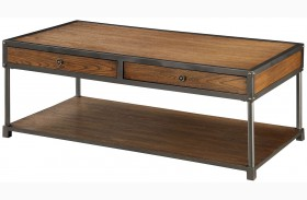 Hecura I Antique Oak Coffee Table