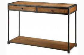 Hecura I Antique Oak Sofa Table