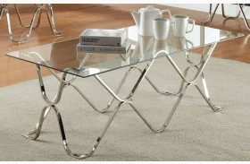 Vador Chrome Coffee Table