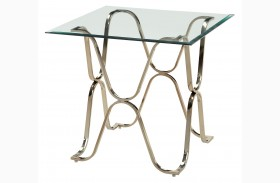 Vador Champagne End Table