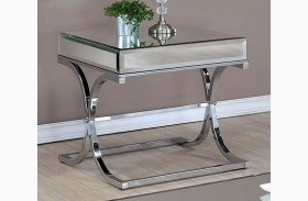 Sundance Chrome End Table