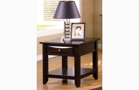 Baldwin Espresso End Table