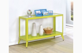 Vibber Apple Green Sofa Table